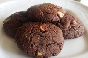 печенье из какао